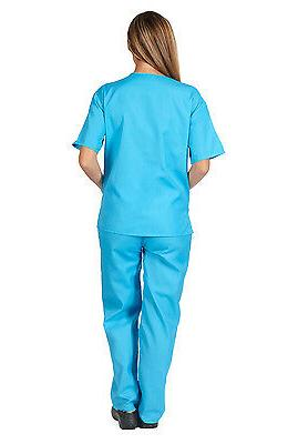 Medical Nursing Scrub NATURAL Women Unisex Top