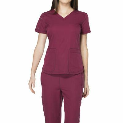 medical uniforms dynamix v neck top