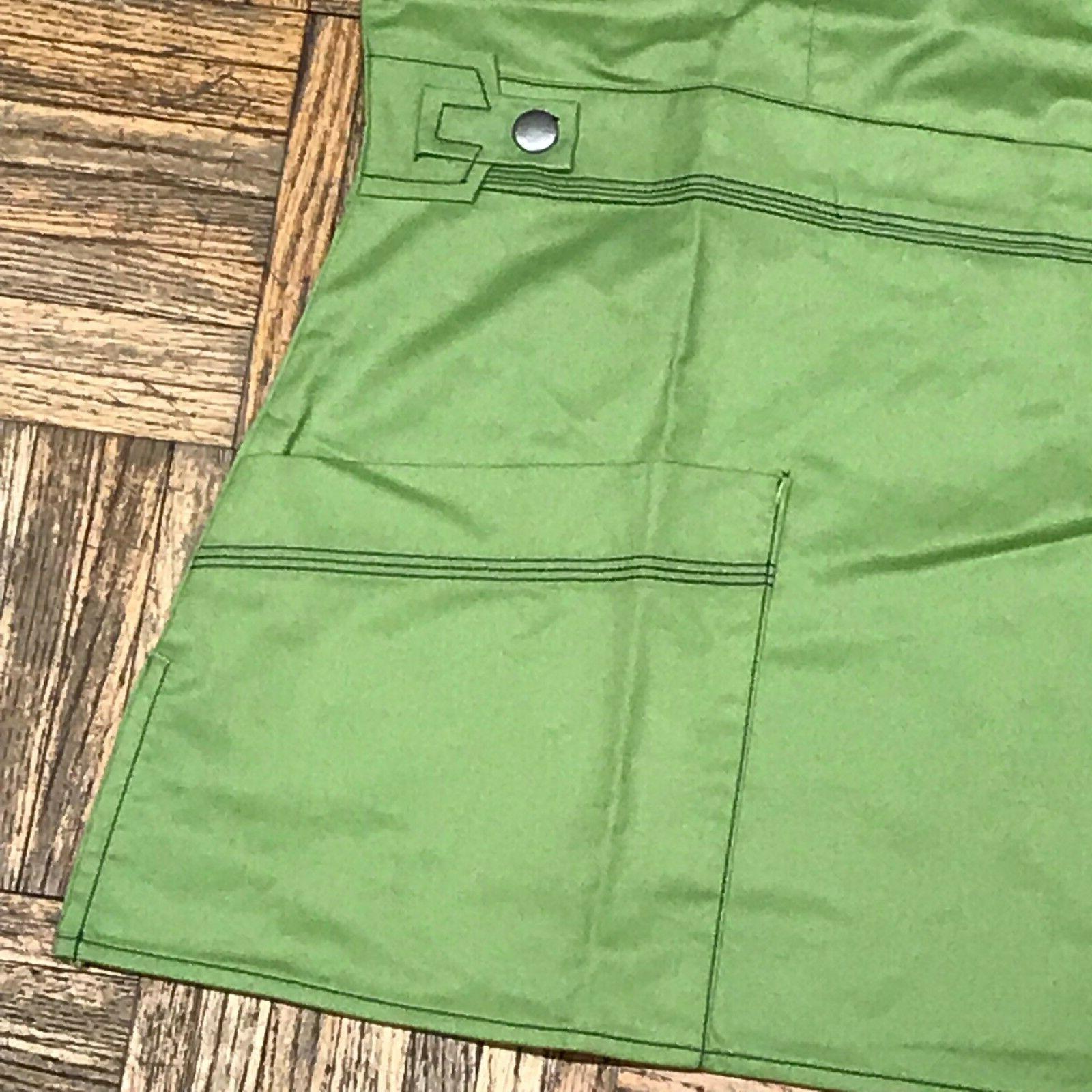 Dickies Uniforms Mock Wrap Top 52%cotton Sz Flex