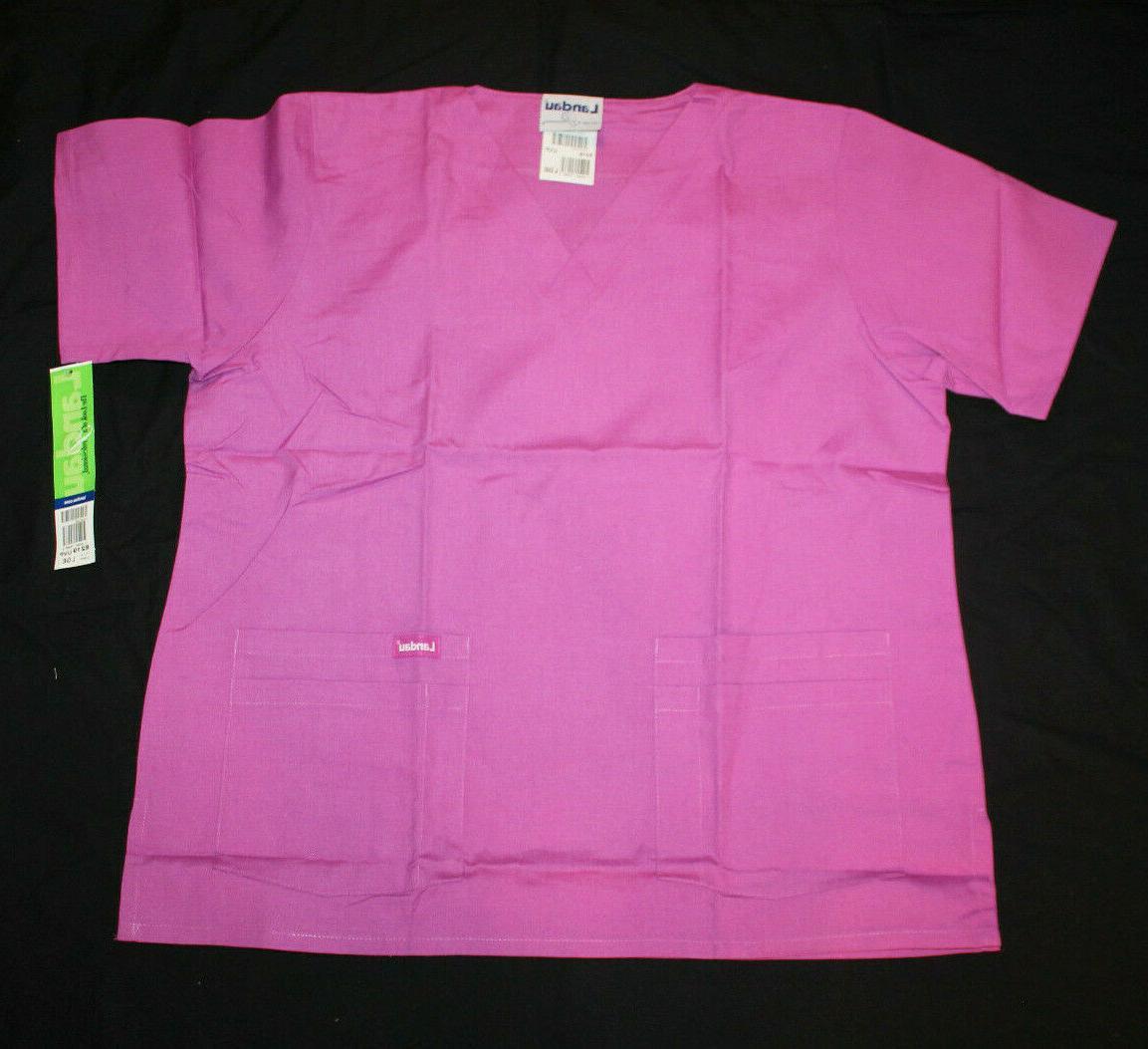 medical uniforms originals scrubs top violet nwt