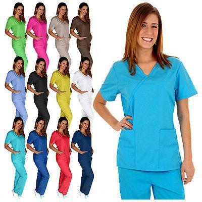 medical women scrubs sets size xs s
