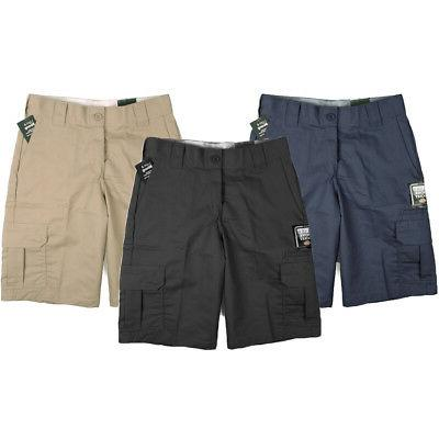 "Dickies Men's 11"" Cargo Shorts Multi-Pocket Regular Fit Work"
