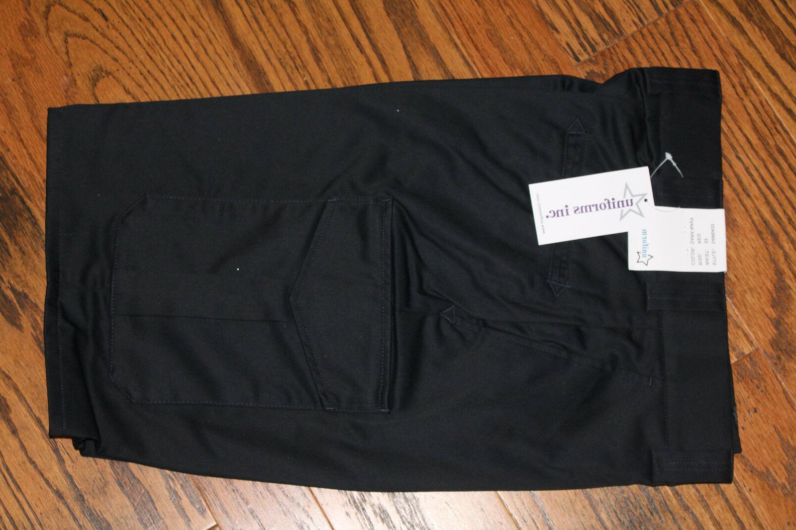 Men's Unifrom Tactical Cargo BDU Shorts Dark Navy NWT Size 4