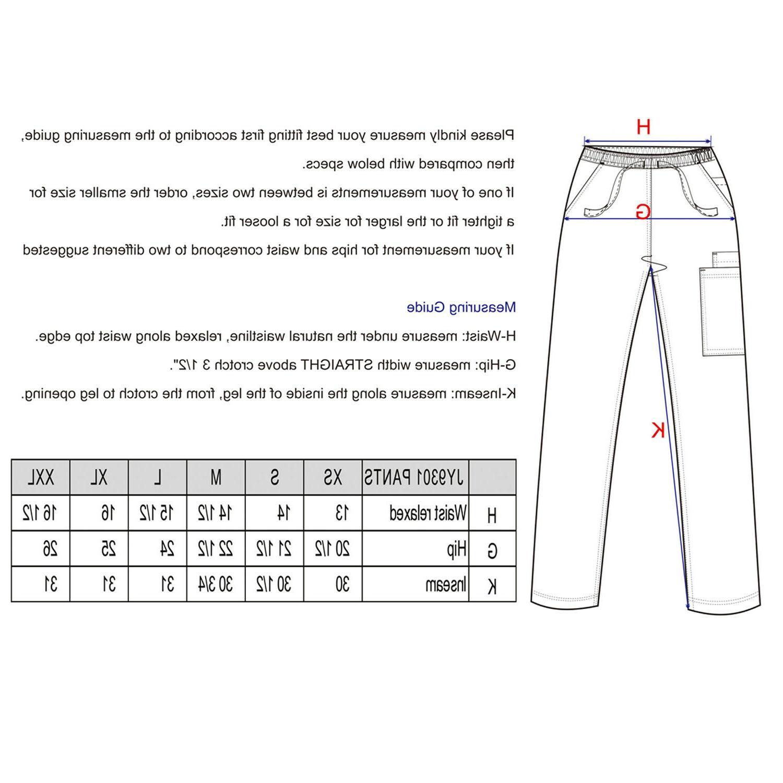 Men Nursing Stretch Set Uniforms Plus JY9301