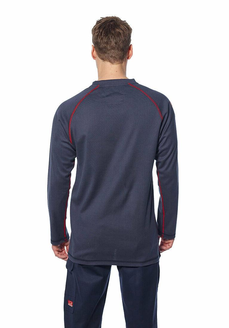 Mens FR01 FR02 Flame Resistant Crew & Button-Down Tops