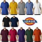 Mens Dickies Short Sleeve Adult 220g Blank Pique Polo Work S