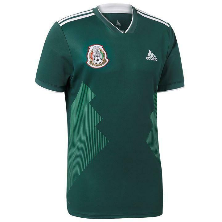 Adidas Mexico 15 Set of Soccer Team Uniform World Cup 2018 H