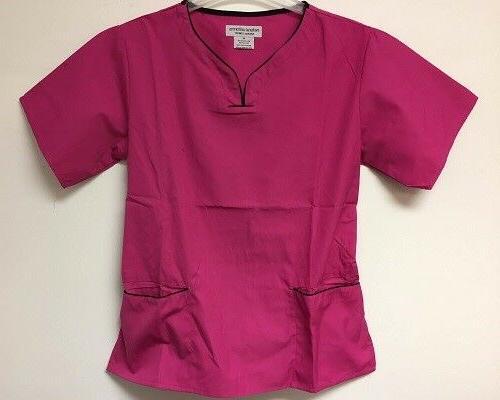Natural Uniforms Natural Comfort Women's Set, Pink, Medium
