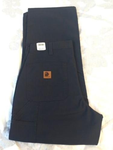Carhartt Navy Blue Carpenter Style Work Pants 46x30 #383-20