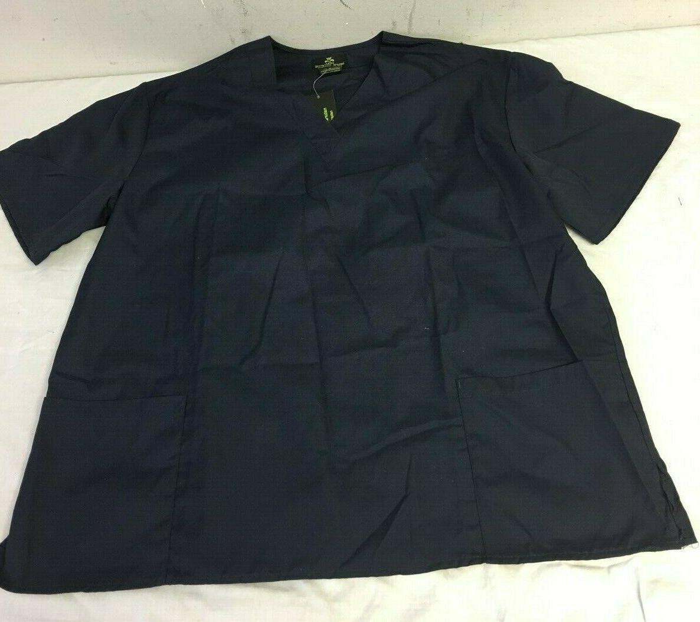 Natural Uniforms Navy Blue Scrub