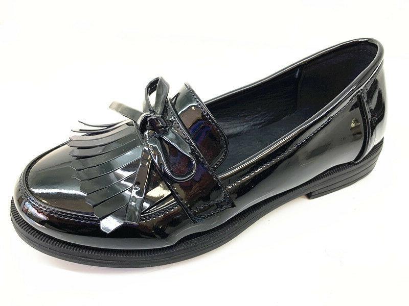 New Girls Black Shoes Kids Formal JANE SIZE