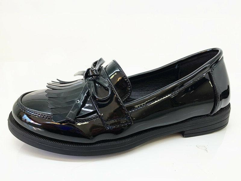 New Girls Black School Shoes Formal MARY JANE FORMAL SIZE