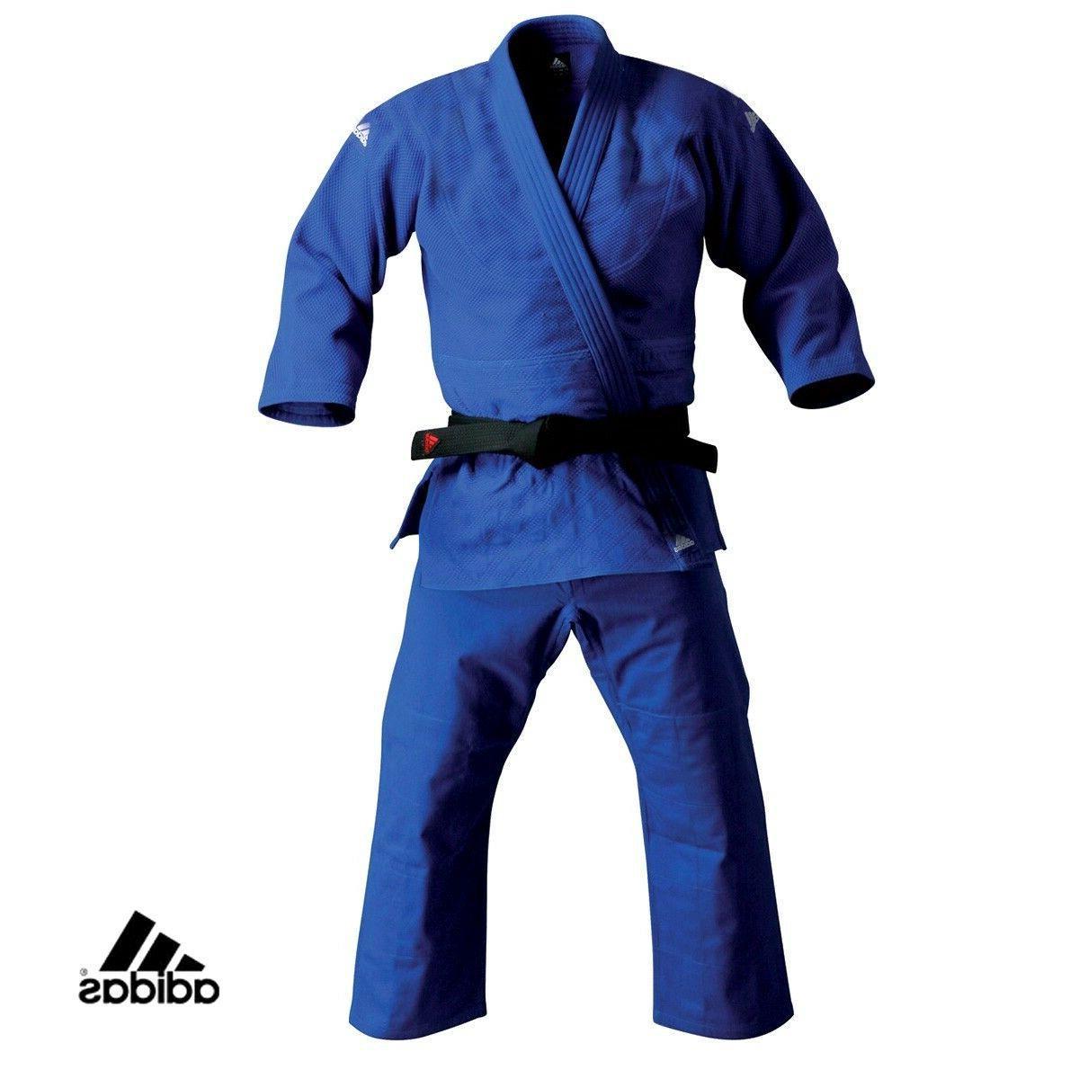 New adidas Judo Student BLUE Gi Traditional Uniform Single W
