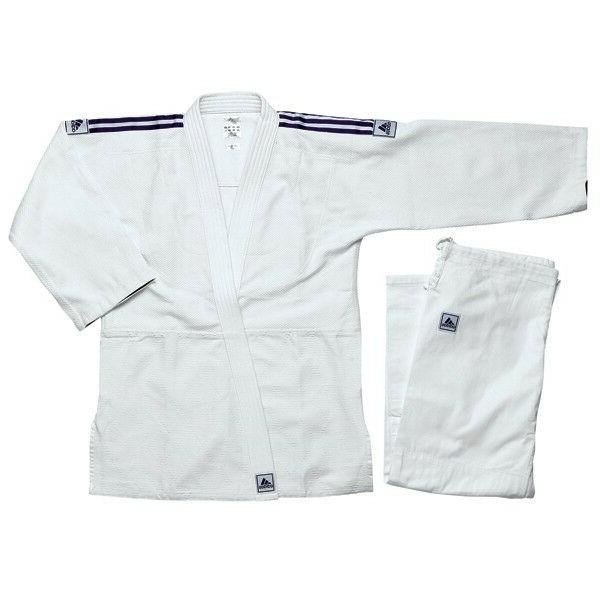 NEW adidas Judo Uniform WHITE adidas Single Weave Judo Gi