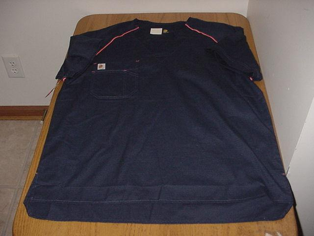 NEW LARGE MEN'S C15308 CARHARTT RIPSTOP MEDICAL NURSE SCRUBS