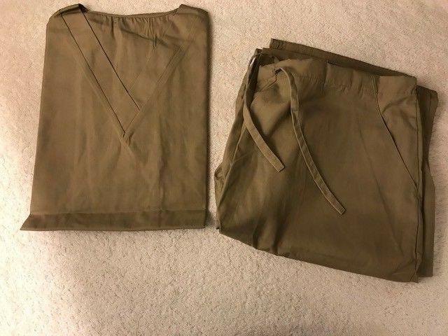 NEW Natural Top and Pants Medium
