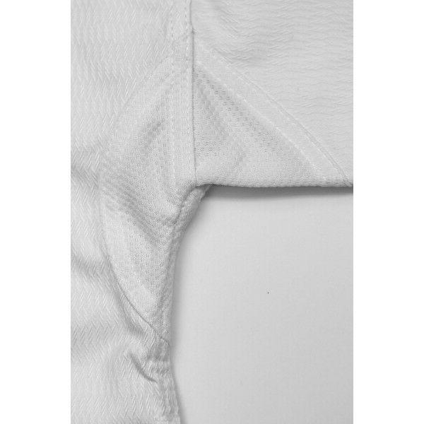 New Taekwondo ADICHAMP Set -WHITE V-Neck