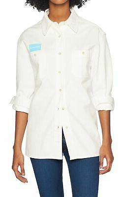 new white womens size medium m uniform