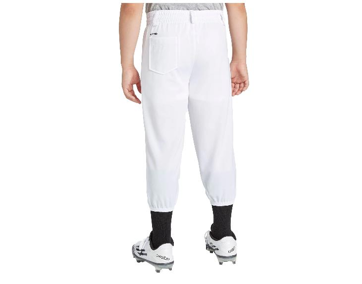 NEW Stripe Pull-Up Pants T-Ball uniform white
