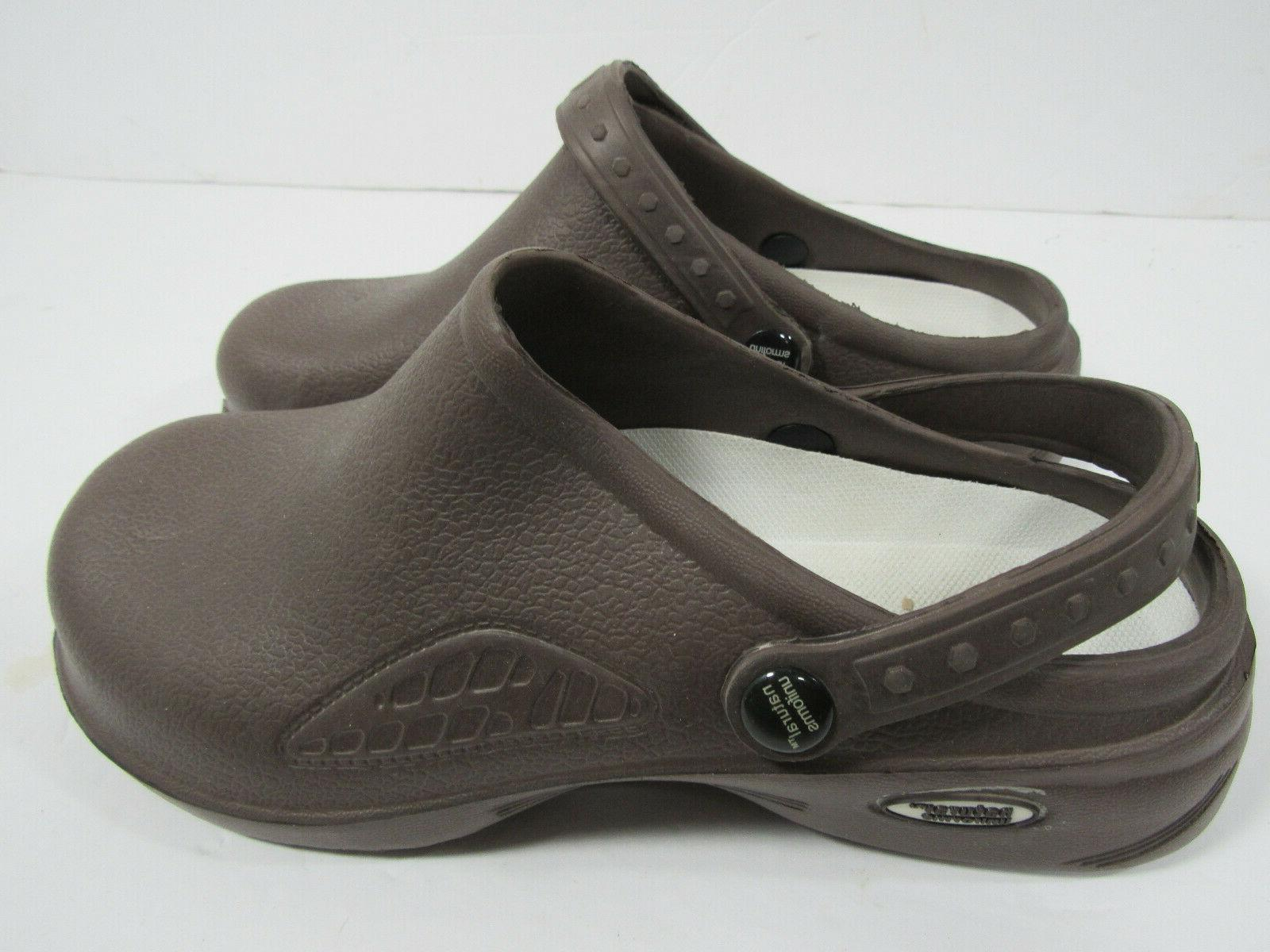 Natural Nurse Womens Lightweight Clogs Shoes Sz 6