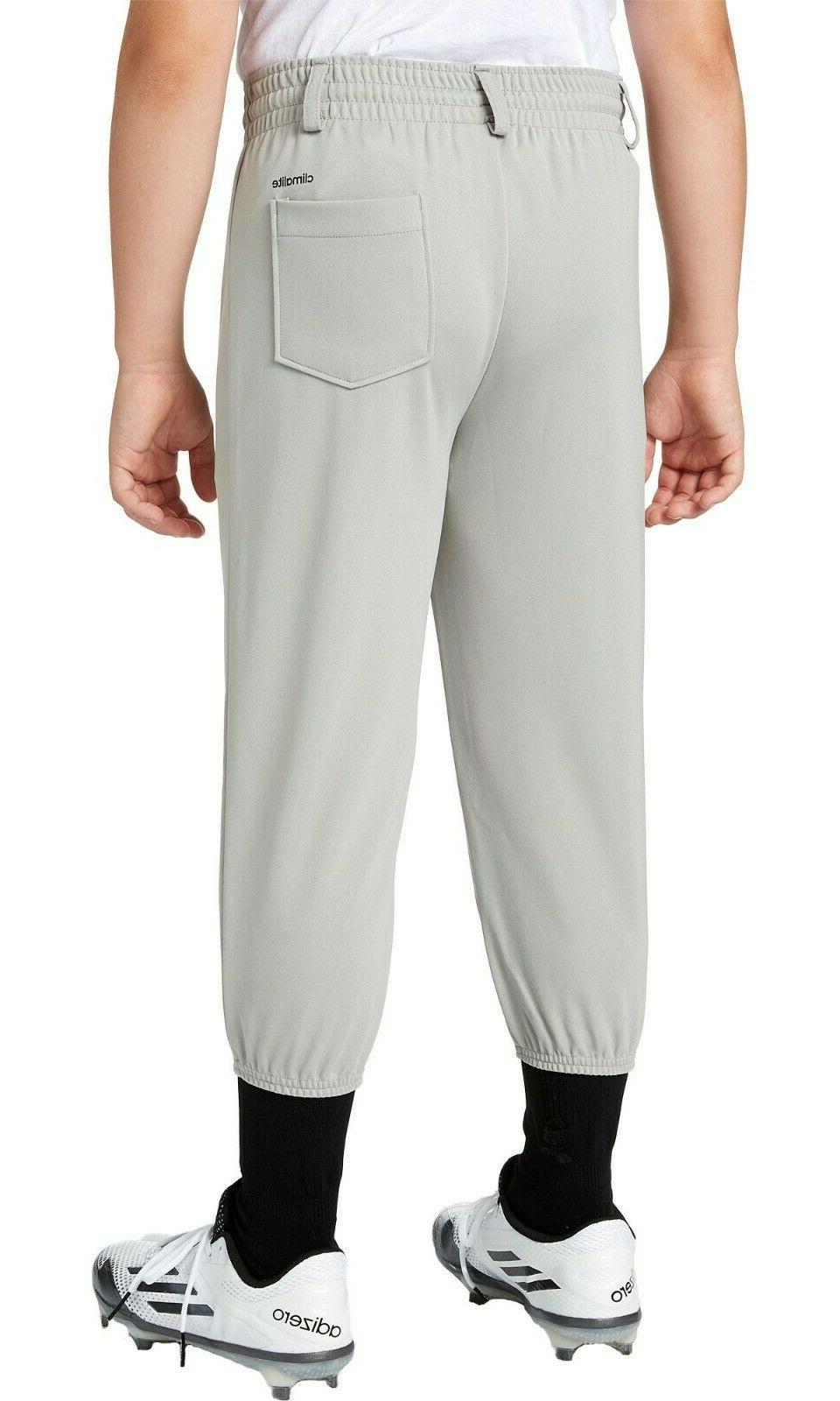 NWOT Stripe Baseball T-Ball Gray Pants