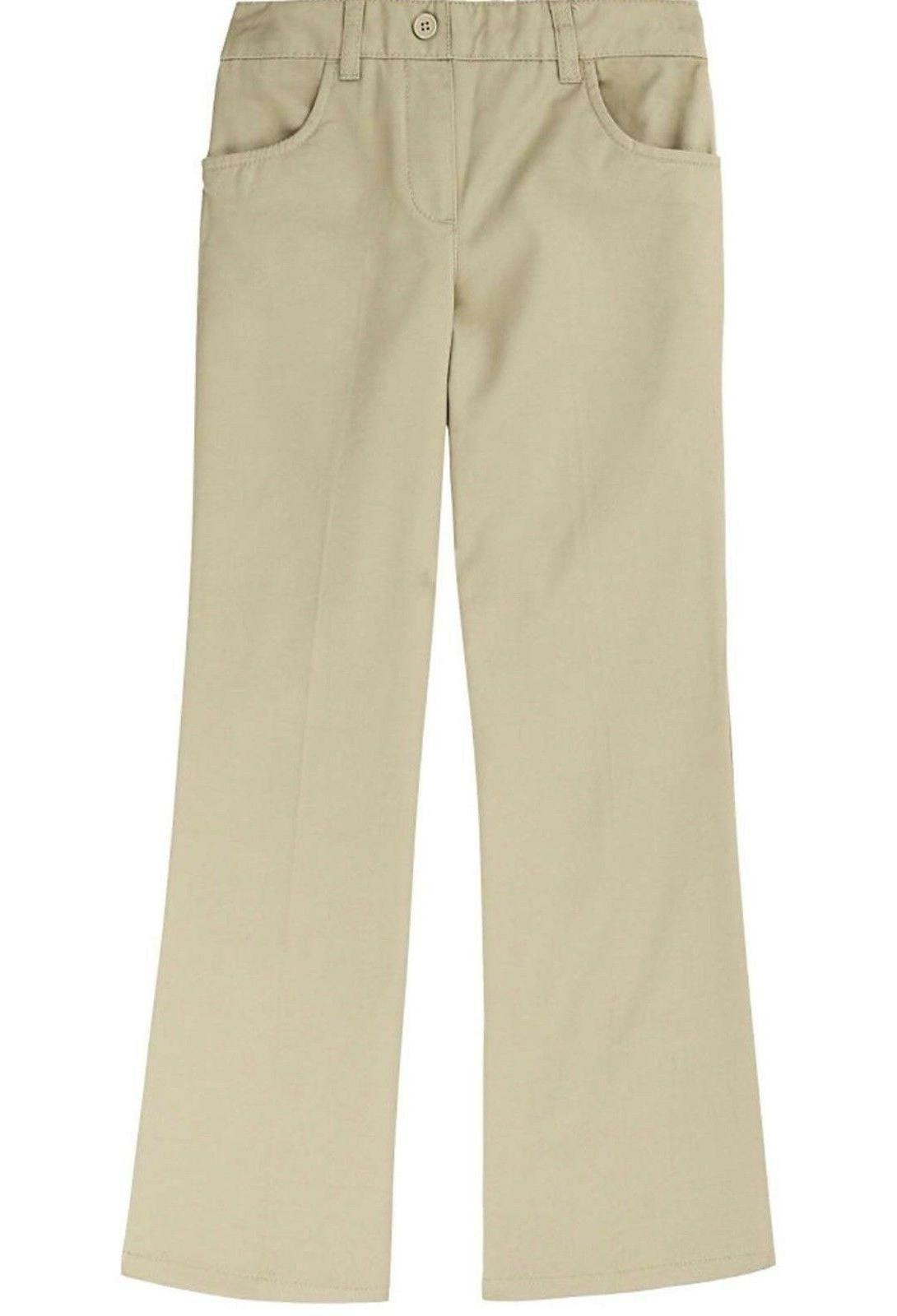 nwt girls pull on uniform khaki pants