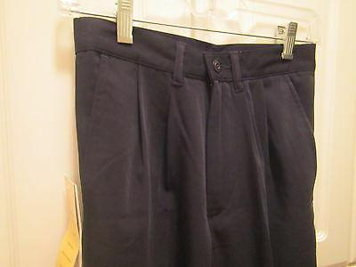 Barco Pants Navy Blue Size 2 Pleated