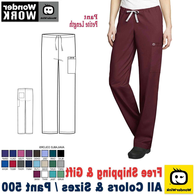 WonderWink  Medical Scrubs Uniform Unisex Cargo Pant