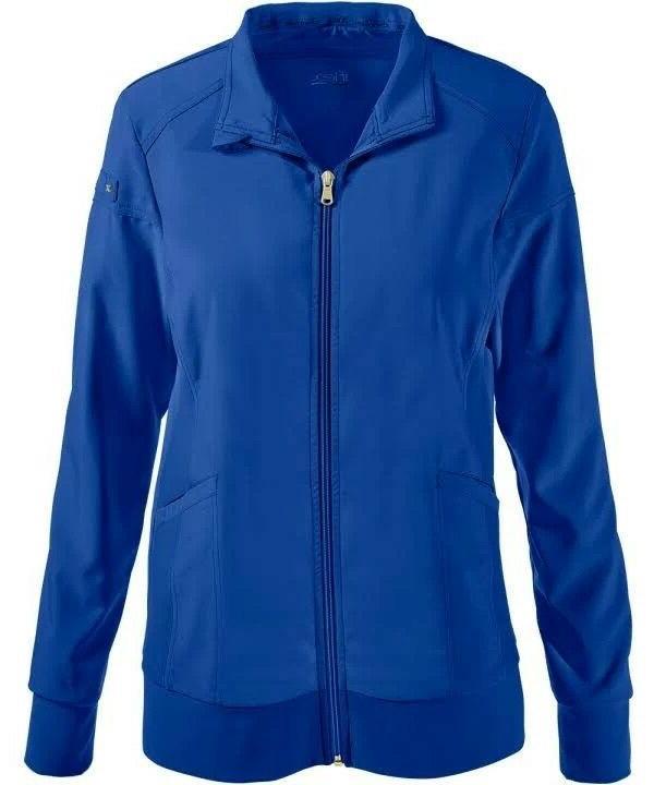 royal blue i flex warm up jacket