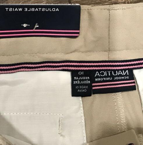 Nautica Pants Adjustable Waist NWT $36