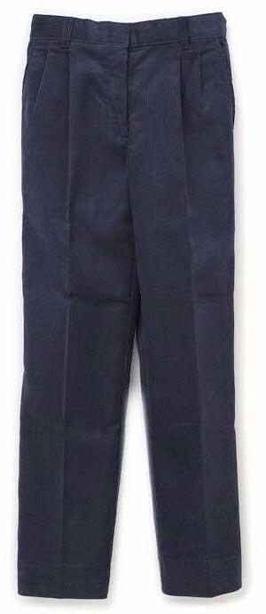 School Uniform Pants 30 x 26.5 Husky Boys Navy Donald's Plea