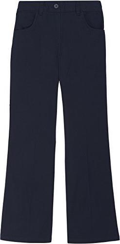 French Toast School Uniform Girls Pull-On Pants, Navy, 12