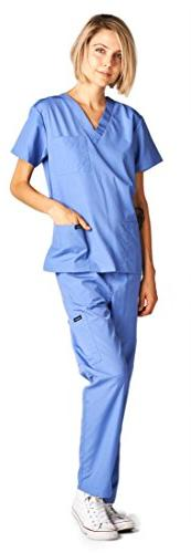 Dagacci Medical and Man Unisex Medical Top and Pant, M