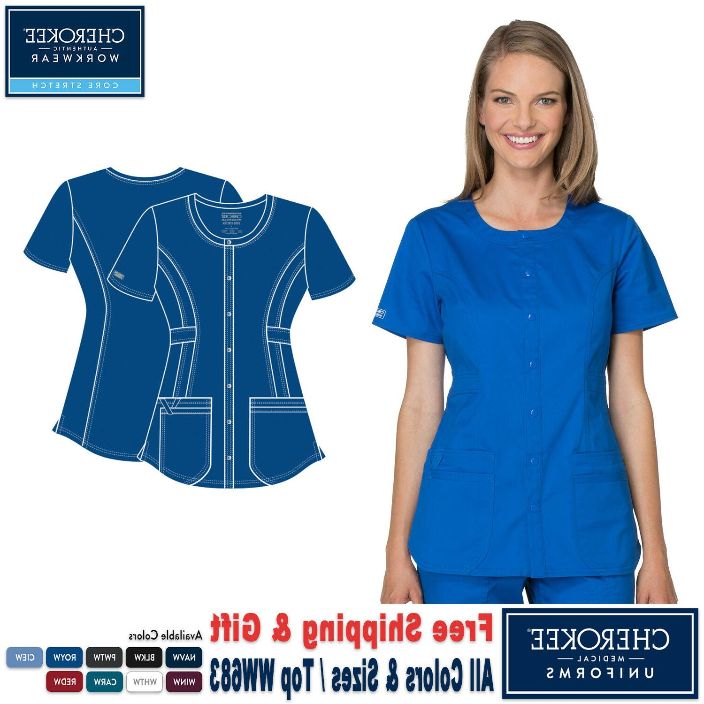 scrubs core stretch women s uniform round