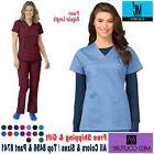 Med Couture Scrubs EZ-Flex TOP & PANTS Nursing Work Uniforms