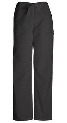 Scrubs Cherokee Workwear Men's Drawstring Pant 4100 BLKW Bla