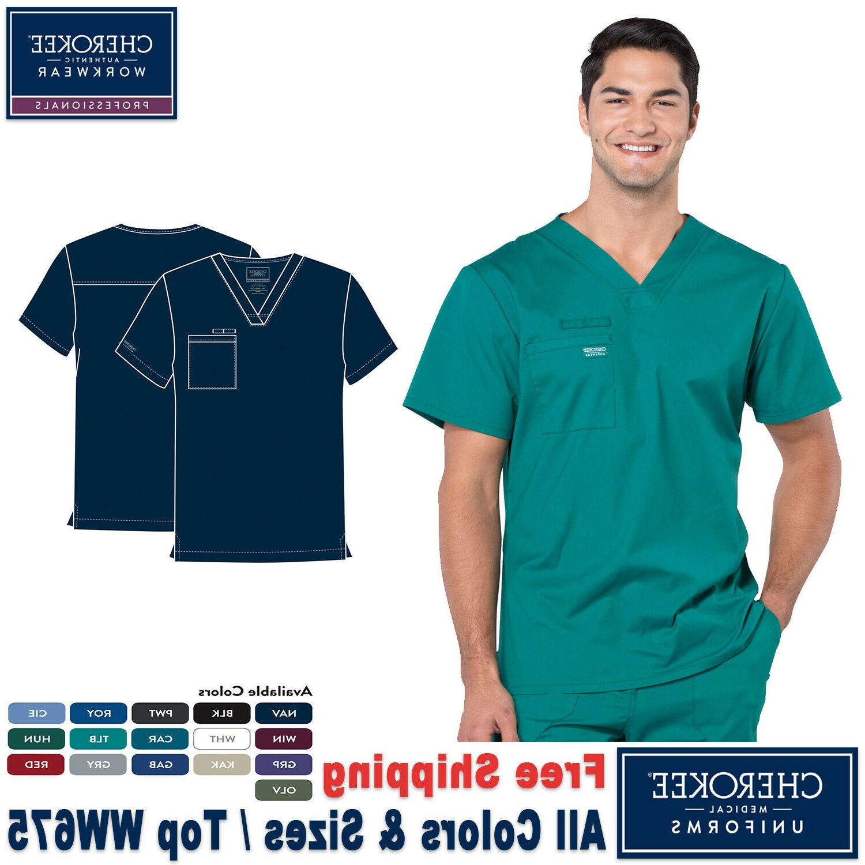 scrubs professional men s medical uniform v