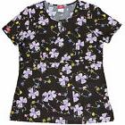 Dickies SCRUBS Shirts Women PRINT Top Mock Wrap 82701C CFGT