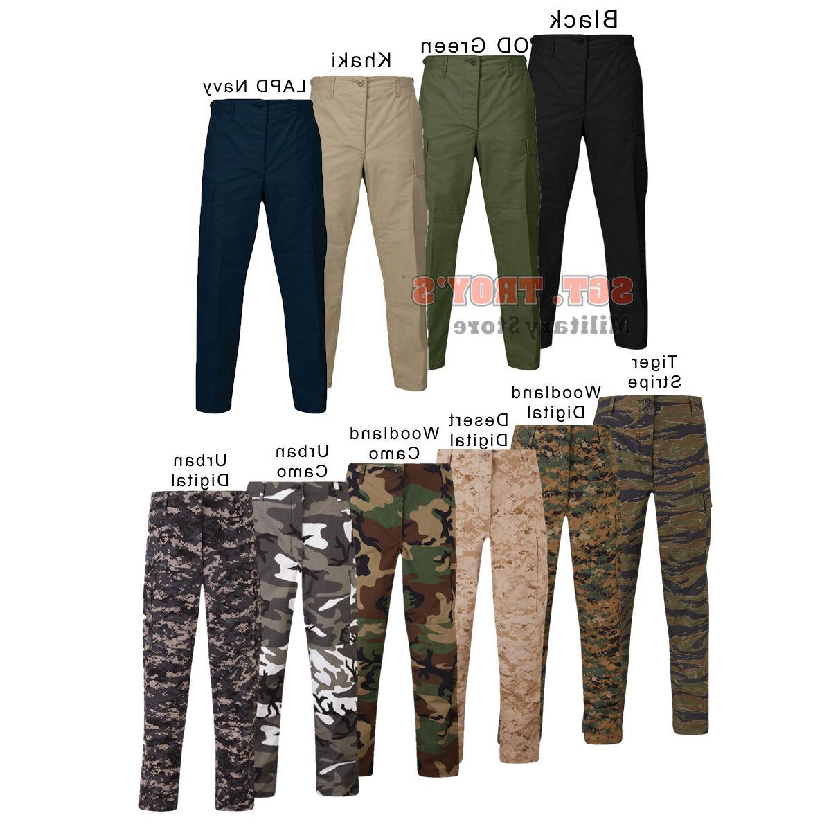 Propper Uniform BDU Tactical Pants Zipper Fly 60/40 Poly Cot