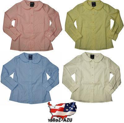 uniform girls 4 20 long sleeve feminine