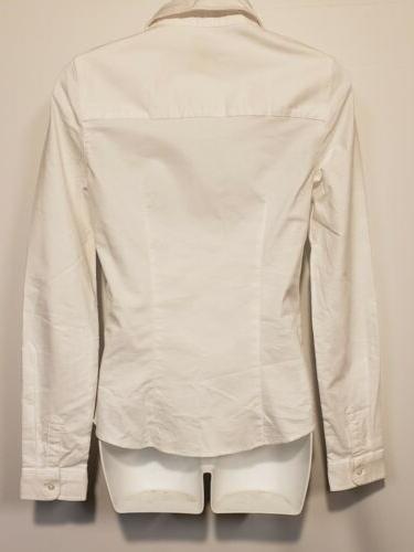 Lee Sleeve Stretch Oxford White,