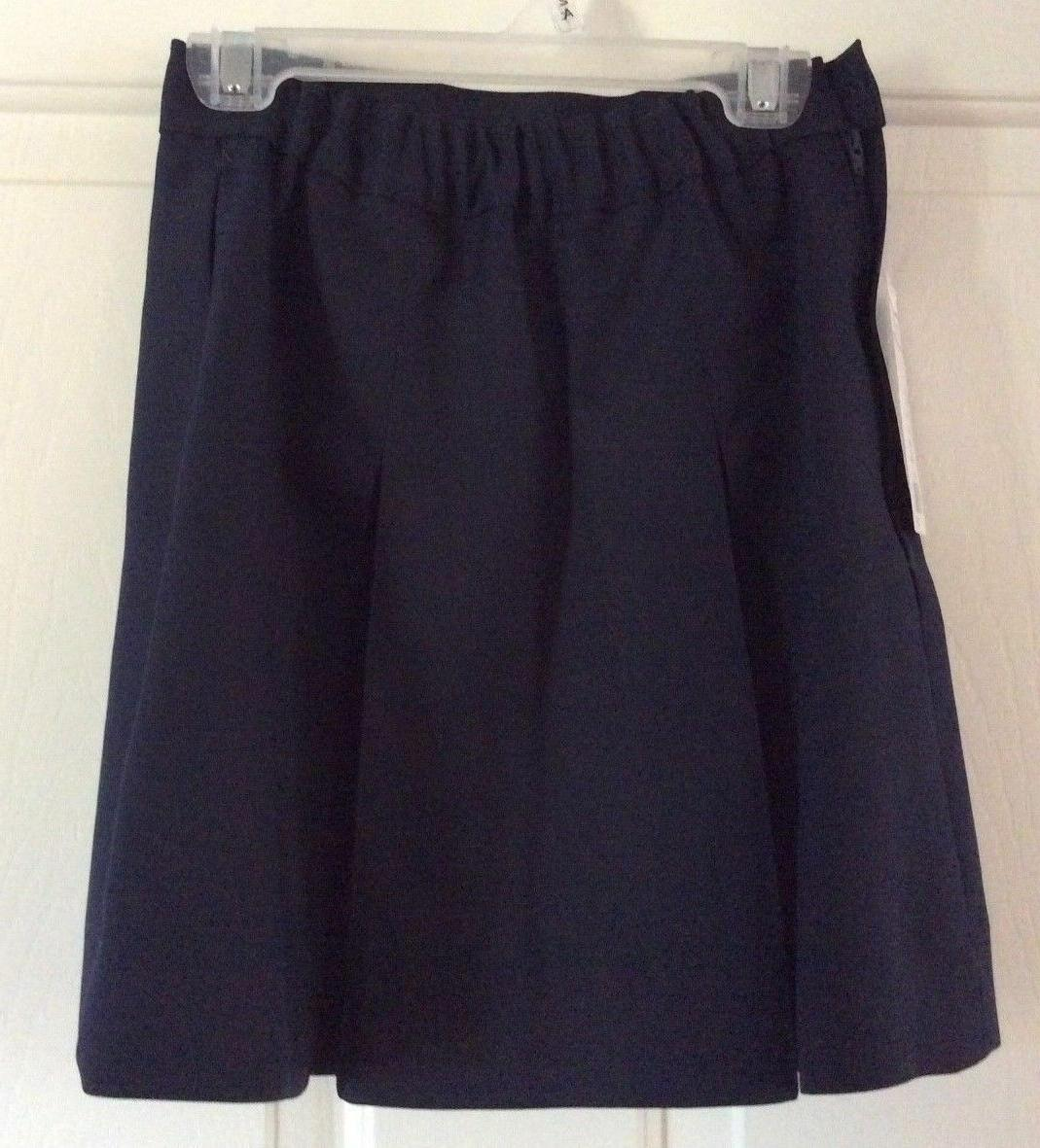 FLYN Navy Skirt Girl 6C NWT