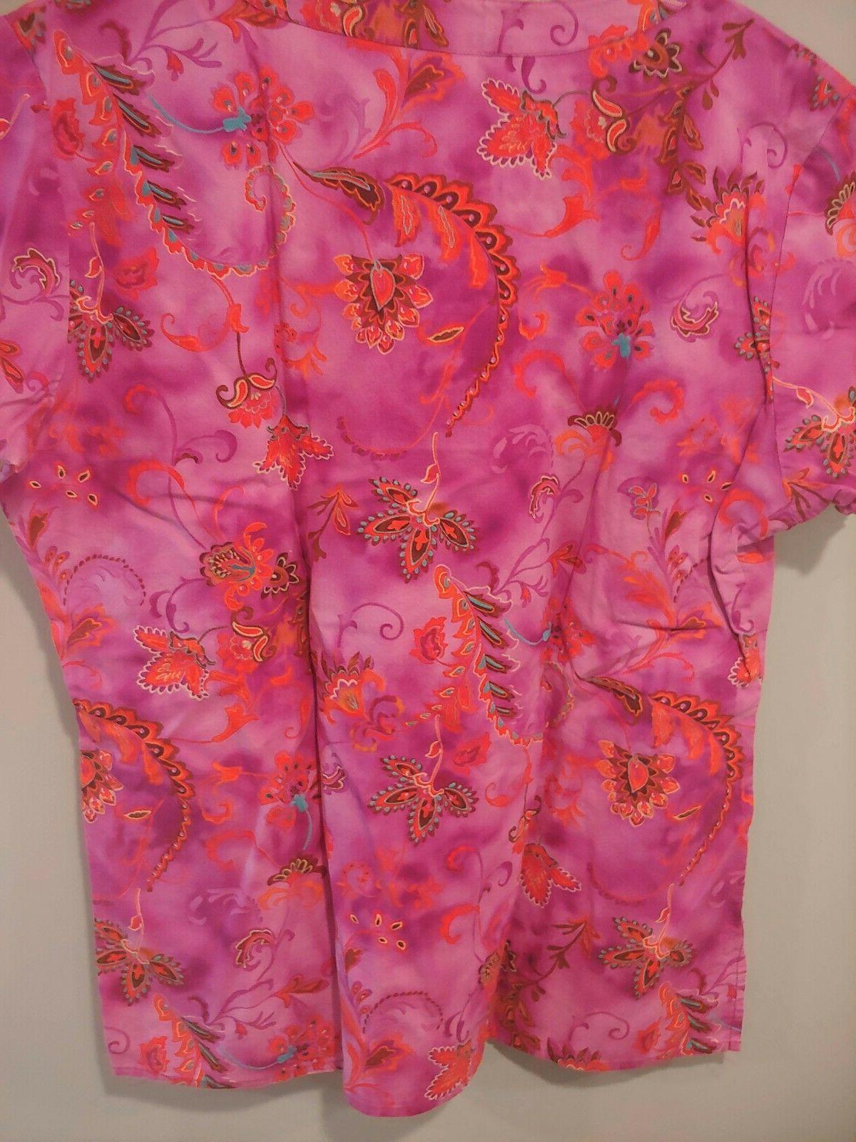 Dickies Scrub Short Sleeve Pink Multicolor