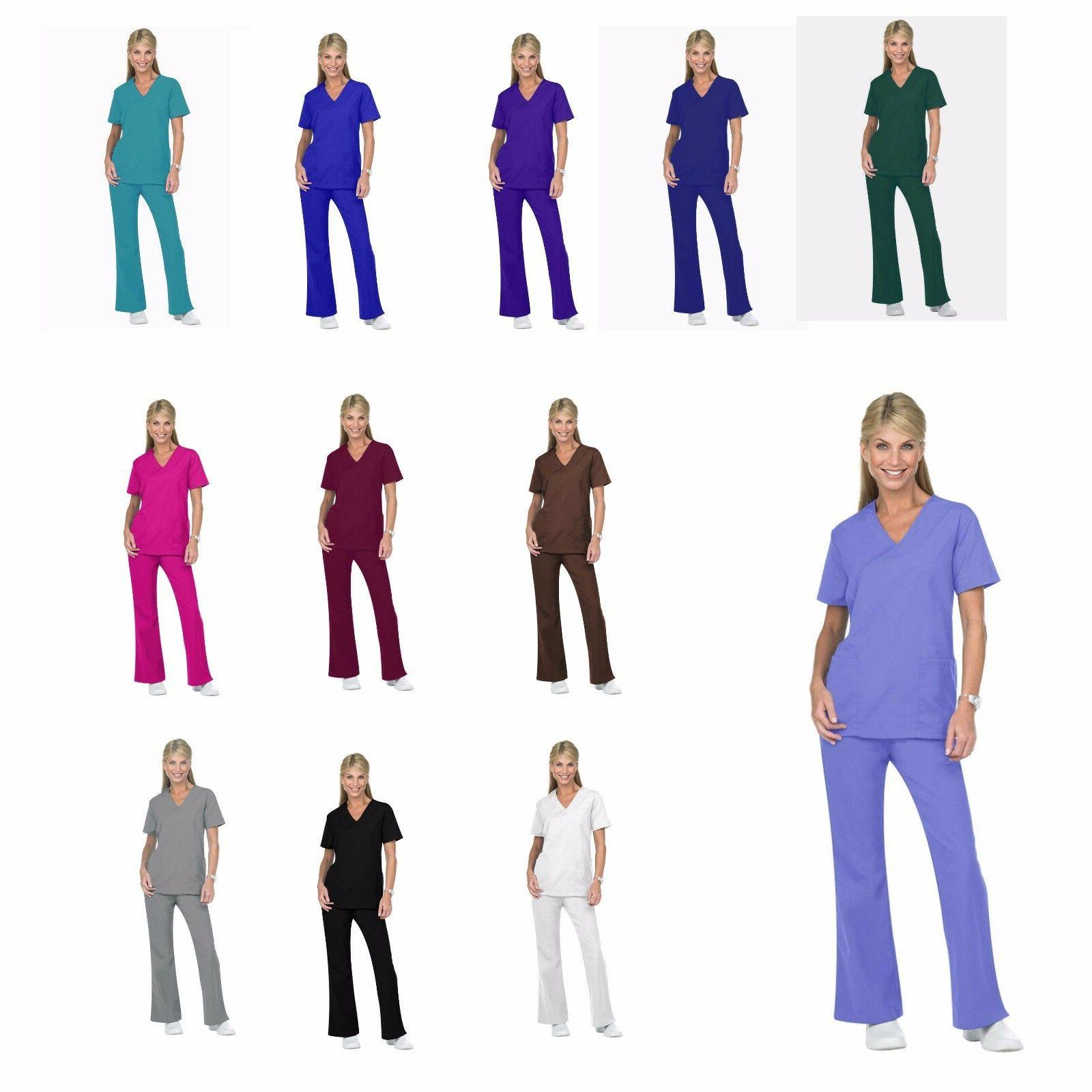 Unisex Men/Women Natural Uniforms Medical Hospital Nursing S