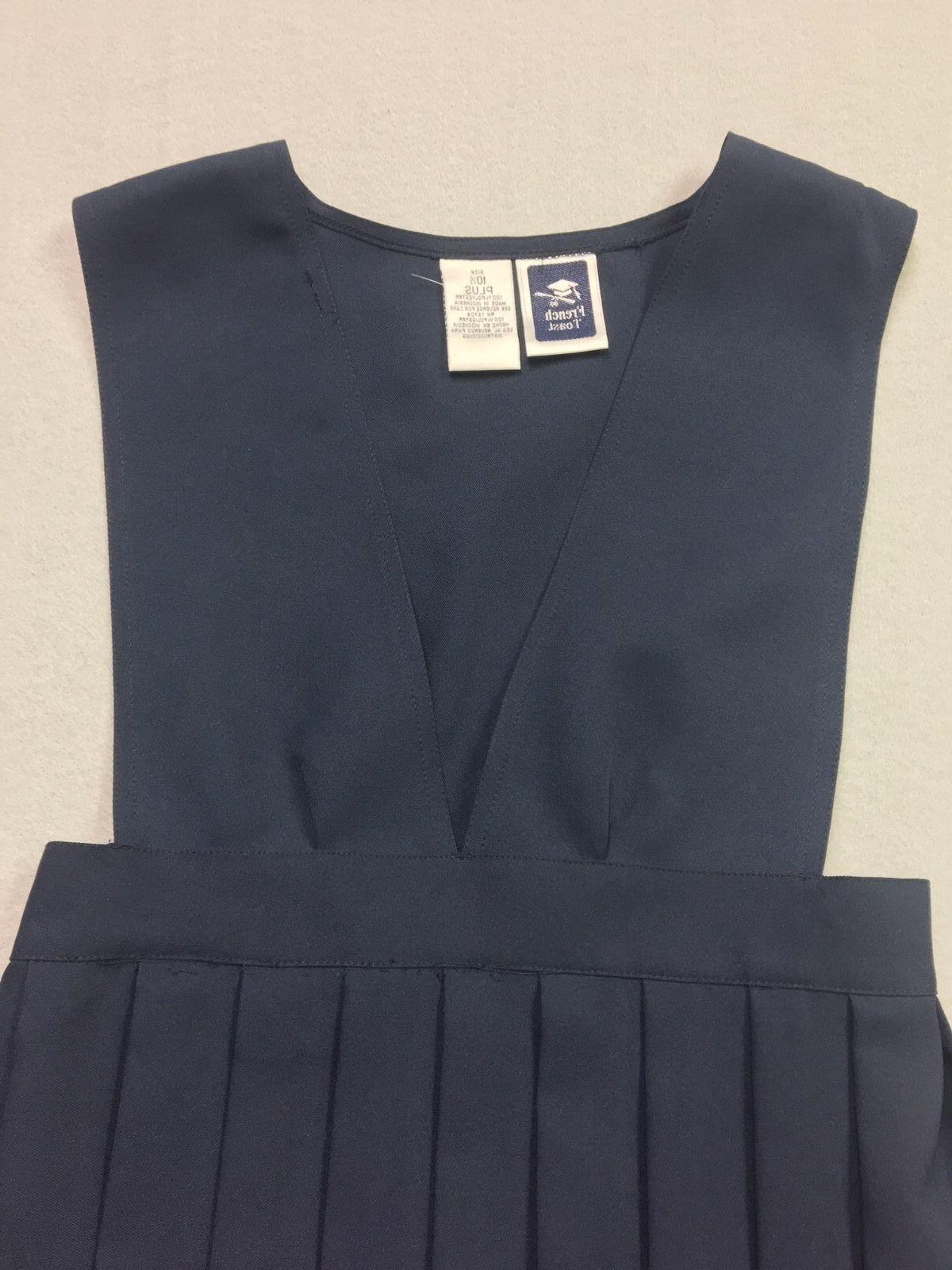 French Toast V-Top Pleat Free Shipping