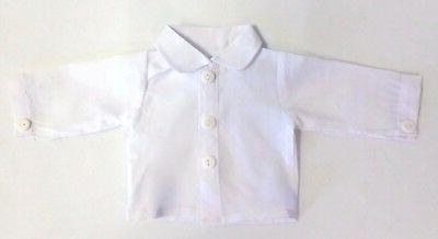 "White Blouse School 18"" Clothes"