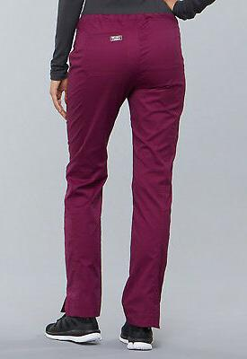 Wine Core Slim Pants