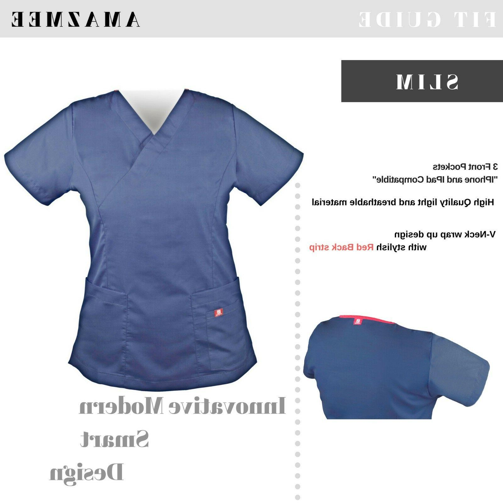 Women's Medical Set with Red Pockets