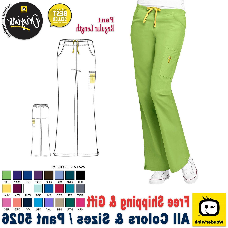WonderWink Women's  Medical Scrub Uniform Pant Bottom