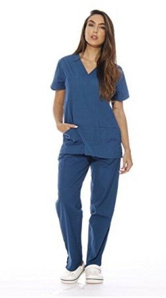 women s scrub sets medical scrubs v